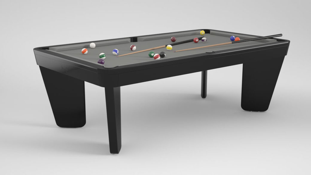 Billard Intemporel Safran noir gris