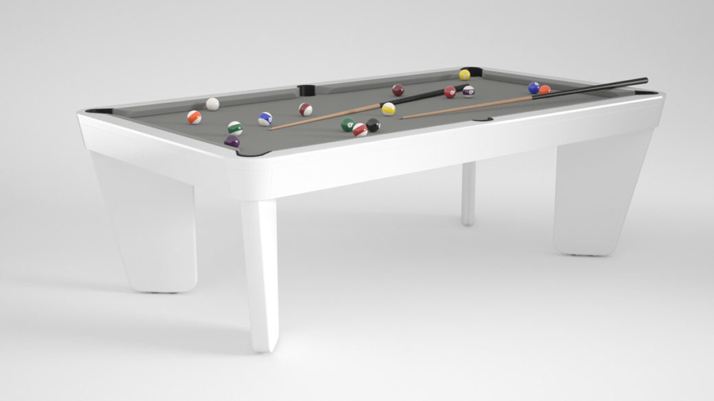Billard Intemporel Safran blanc gris