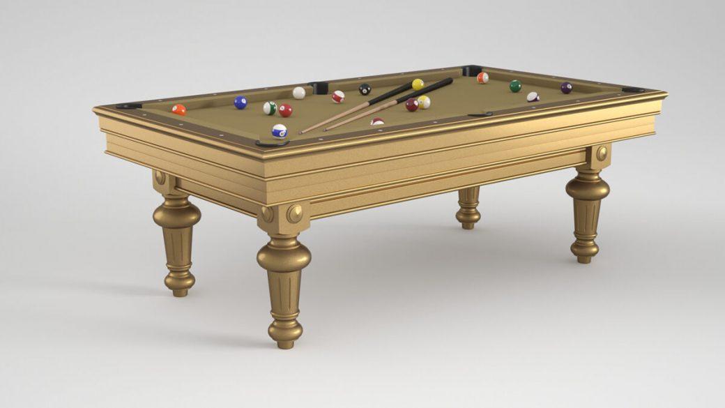 Billard Luxe Amboise gold