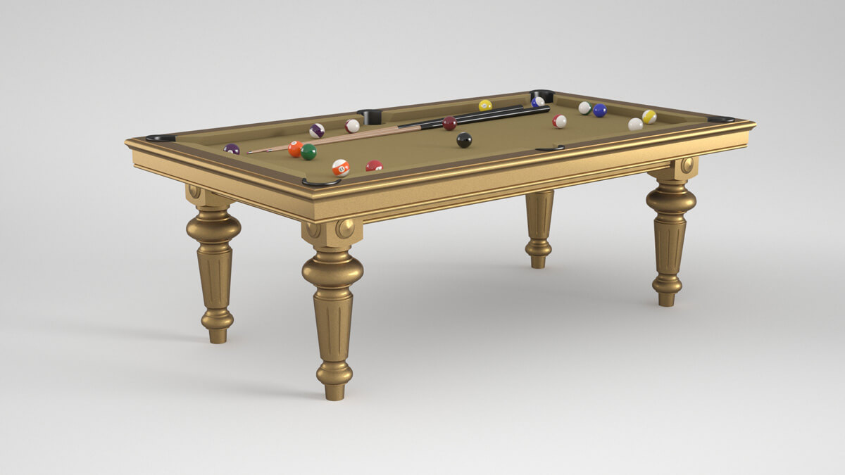 Billard Luxe Ile de France gold