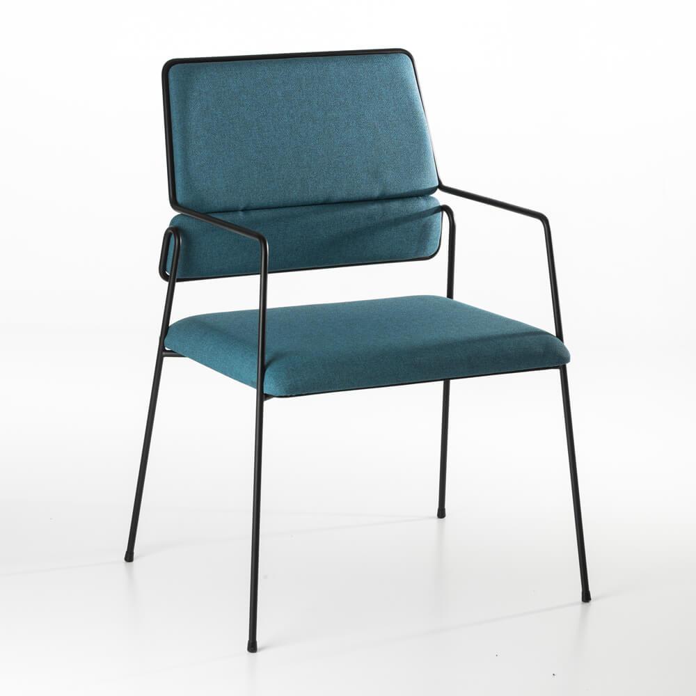 Accessoires Chaise Bridge Impala Bleu Grise
