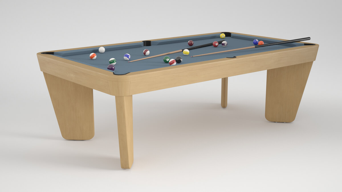 Billard Intemporel Safran oak powder blue